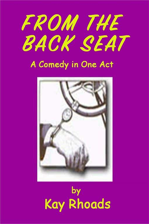 From the Back Seat   Plays Scripts for Seniors to Perform   Comedy