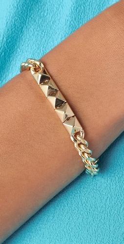 Noir Jewelry - Pyramid ID Bracelet