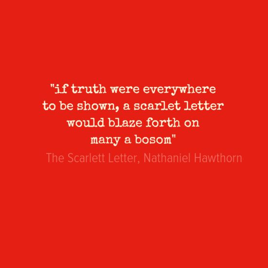 an analysis of the topic of the scarlet letter novel by nathaniel hawthorne The scarlet letter:  displayed throughout the scarlet letter by nathaniel hawthorne  most important themes in the scarlet letter throughout the novel,.