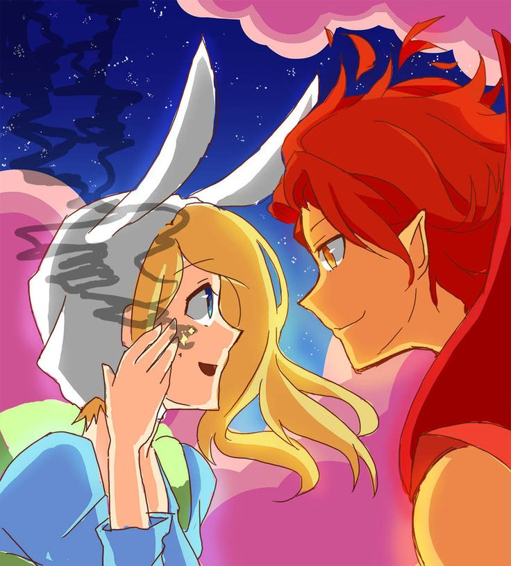 Fionna and Flame Prince (Comic Reference) by AnimeandCartoonFan