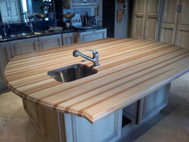 155 Best Kitchen Islands With Wood Countertops Images On