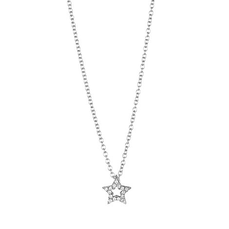 Jan Logan 18ct diamond mini Star pendant