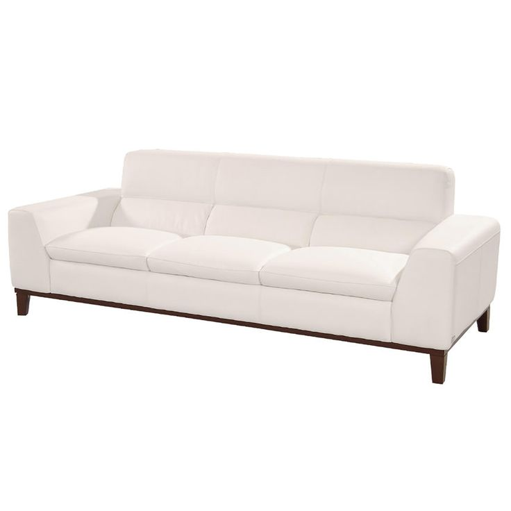 milani white leather sofa el dorado furniture - White Leather Sofa