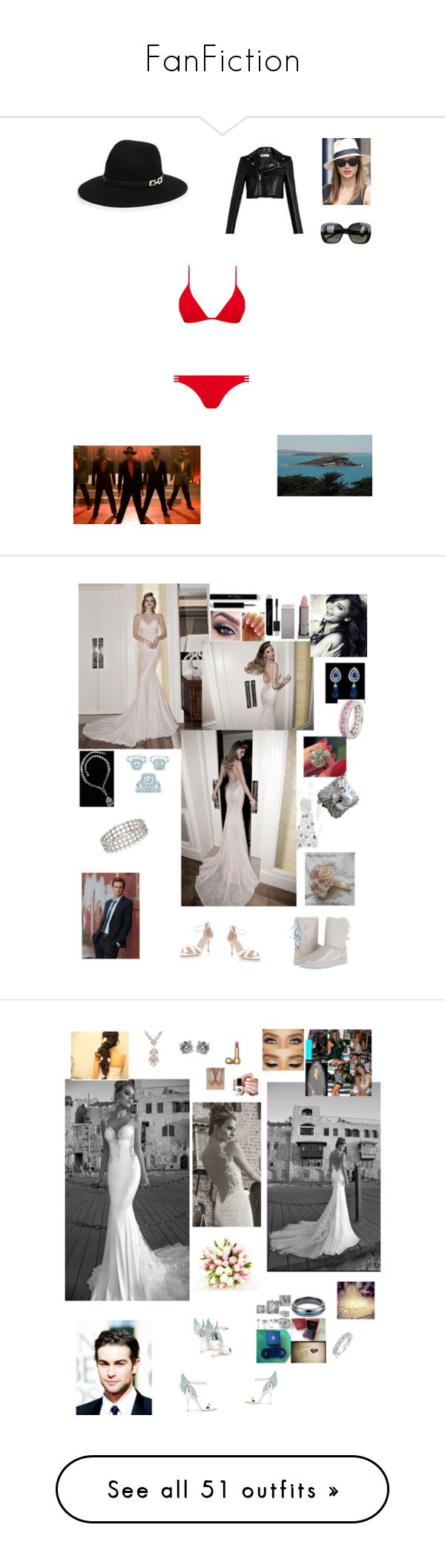 """FanFiction"" by ejmfashionista ❤ liked on Polyvore featuring Bebe, Kerr®, Melissa Odabash, Yves Saint Laurent, Bottega Veneta, Bulgari, Christian Dior, Lipstick Queen, Colette Jewelry and Tiffany & Co."