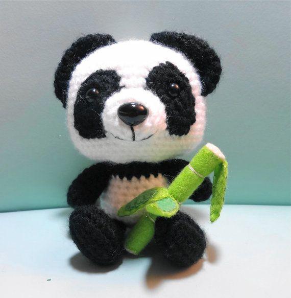 PDF Amigurumi Pattern Panda by OrangeZoo on Etsy, $5.00