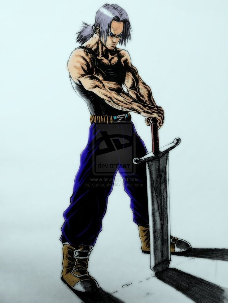 Trunks DeviantArt - Dragon Ball