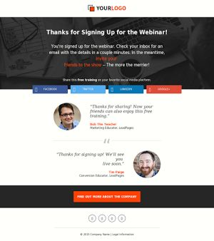 Landing Page Marketplace - LeadPages Marketplace - Mobile Responsive for A/B Split Testing