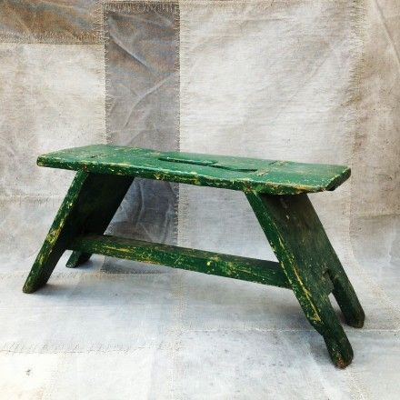 Vintage stool. & 142 best Stools and Benches images on Pinterest | Step stools ... islam-shia.org