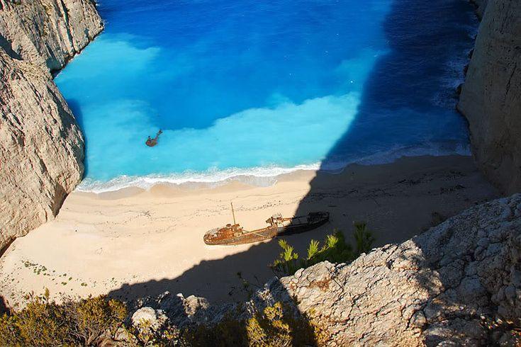 2 Shipwreck beach(Navagion beach),Zakynthos island