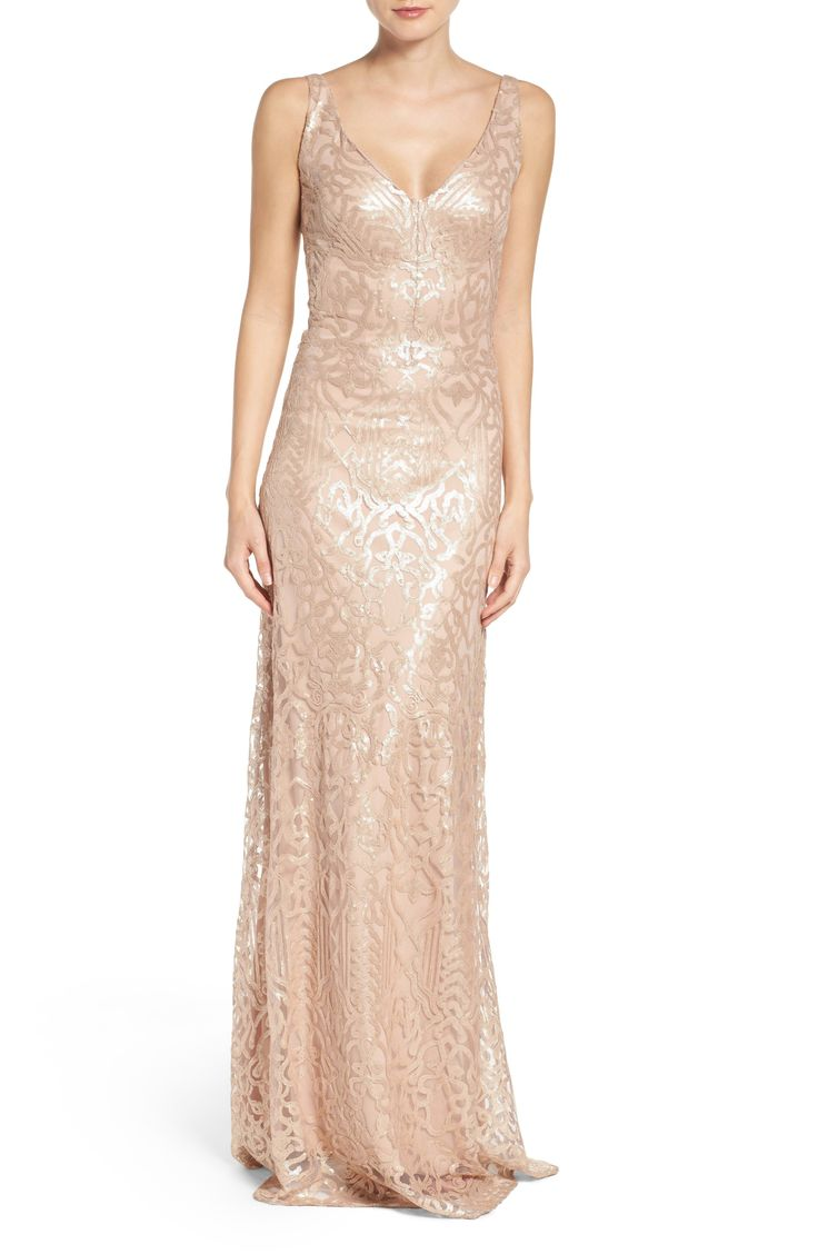 443 best sequined metallic bridesmaid dresses images on a styled wedding look with a bridesmaid dress for a wedding featuring a sequined bridesmaid dress by js collections gold accessories and many other ombrellifo Image collections