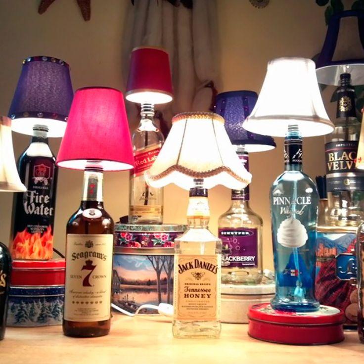 Como fazer um lindo abajur de garrafa de vidro? | Dinâmica Ambiental