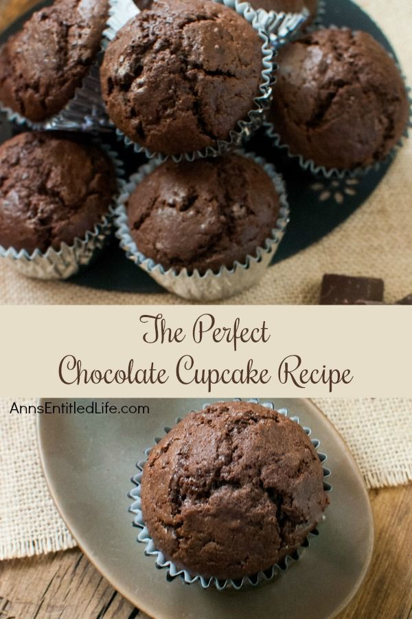 Perfect Chocolate Cupcake Recipe. This Perfect Chocolate Cupcake Recipe is simply... perfect! You will be fighting off your kids to lick the beater. Frosting is not necessary, these cupcakes are that good!