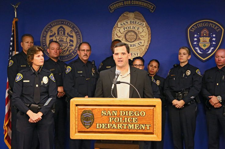 FMG staffers attended a press conference right in our own backyard — San Diego PD announced a partnership with Project ChildSafe, which means 900 free gun locks will now be available in the San Diego community for residents.  #projectchildsafe #sdpd #sandiego
