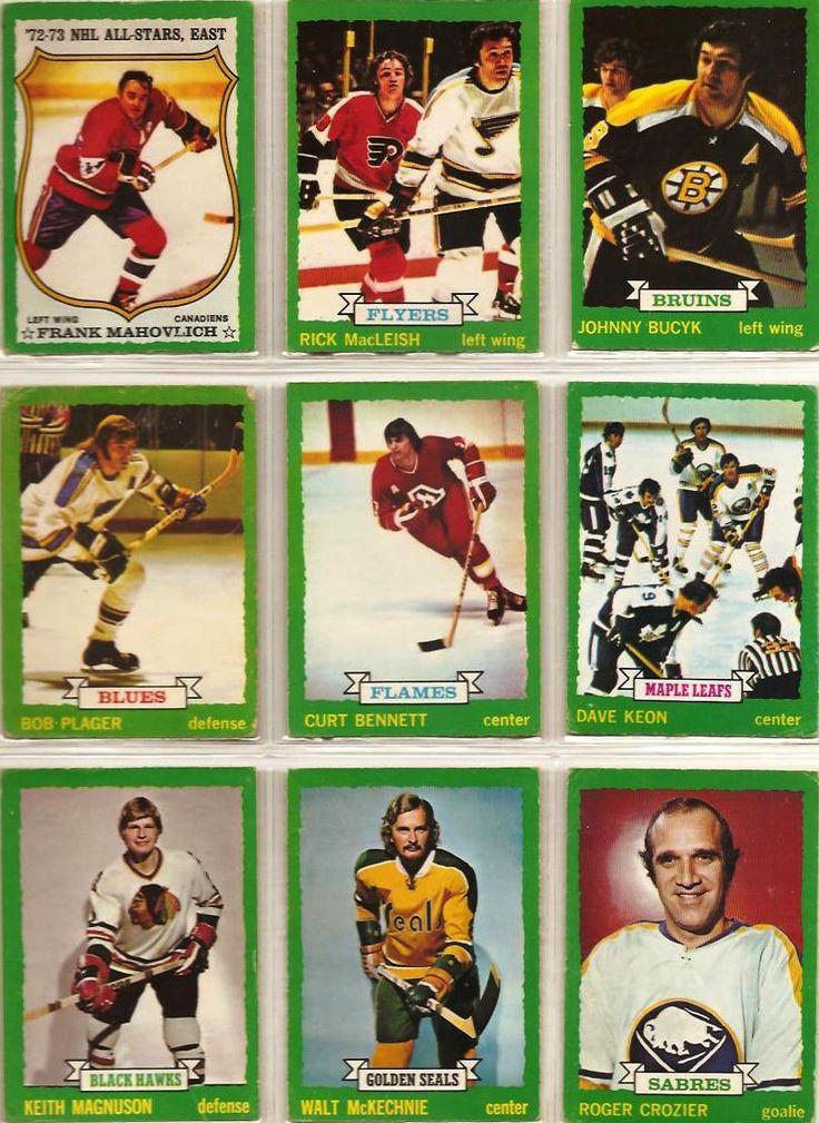 145-153 Frank Mahovlich, Rick MacLeish, Johnny Bucyk, Bob Plager, Curt Bennett, Dave Keon, Keith Magnuson, Walt McKechnie, Roger Crozier