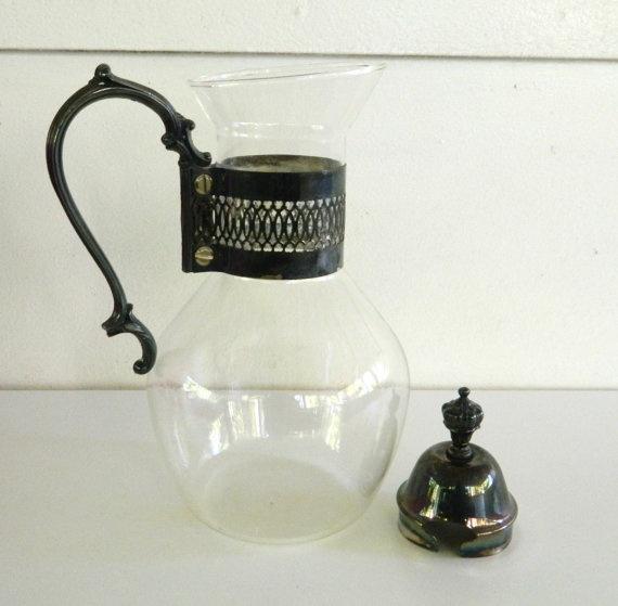 Corning Glass Coffee Pot