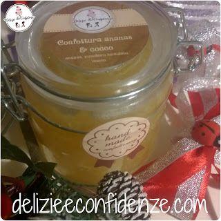 Delizie & Confidenze: Confettura di ananas & cocco