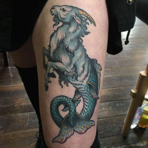 Capricorn Zodiac Tattoo Designs: 184 Best Capricorn Images On Pinterest