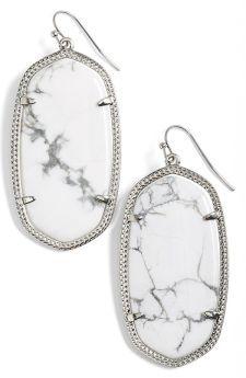 We love these marbled Kendra Scott Earrings.