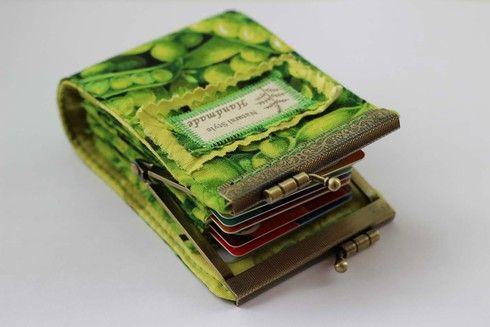 Органайзер для банковских карт - Рукоделие - Babyblog.ru