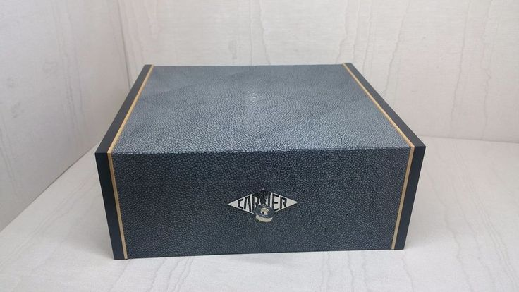 CARTIER BIG BOX JEWELRY & WATCH CASE PORTA GIOIE PORTA OROLOGI REF. T1220311