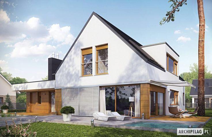 Beautiful modern home! Projekt domu Neo G1 ENERGO by Pracownia Projektowa ARCHIPELAG