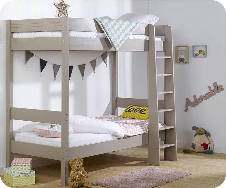 einfach und effektiv mehr platz gewinnen das etagenbett clay in leinen farbe ist eine gute lsung um mehr spielraum fr ihr kind zu schaffen - Einfache Hausgemachte Etagenbetten