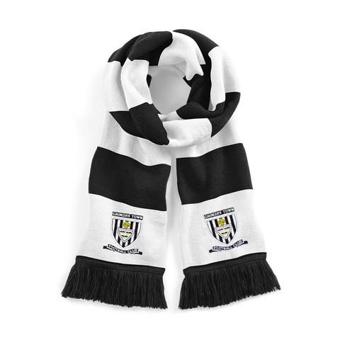 Grimsby Town Traditional 1971-72 Football Scarf Embroidered Logo