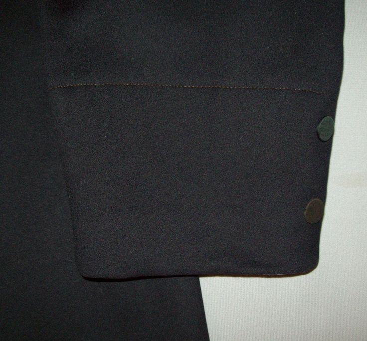 Nice Antique Vtg 1900's Victorian Wool Frock Coat Edwardian Suit Mourning Jacket   eBay