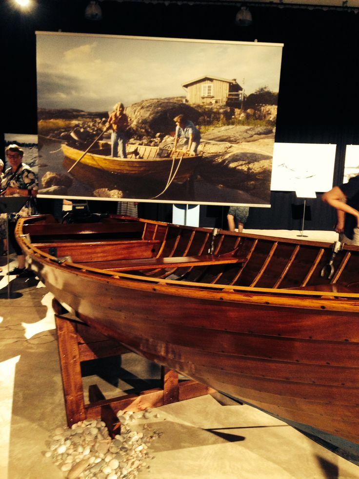 Tove Jansson båt