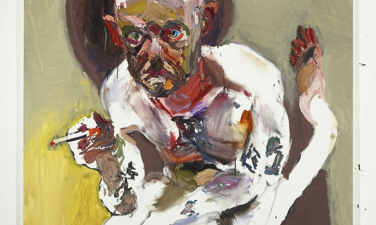 Ben Quilty, Griggs, 2012, Oil on linen, 170 x 160cm, Courtesy the artist, Jan Murphy Gallery and Prudential Eye Awards