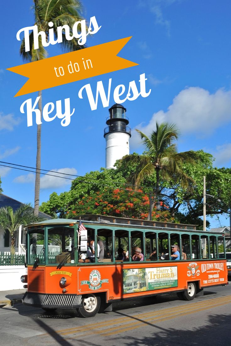 There's so many things to do in Key West with Old Town Trolley Tours! #OldTownTrolleyTours #KeyWest #travel