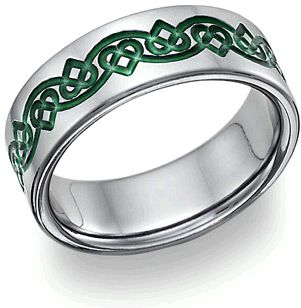 Irish Jewelry Wedding Rings | ... 2012 Celtic Jewelry , Titanium Jewelry , Wedding Bands , Wedding Rings