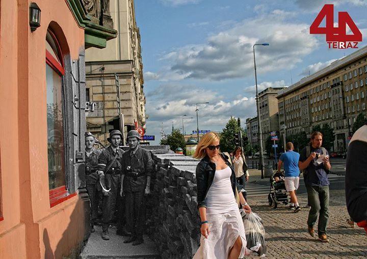 Róg Marszałkowskiej i Wilczej w kierunku placu Zbawiciela www.teraz44.pl