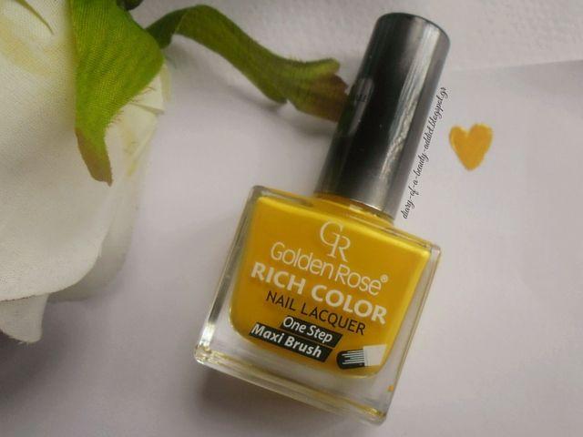 Golden Rose Rich Color Nail Lacquer No48
