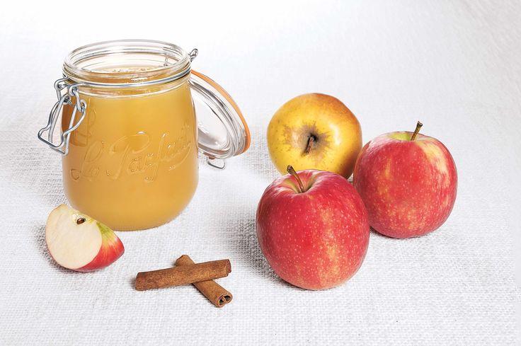 Deliciosa compota de #manzana en #tarro #LeParfait.