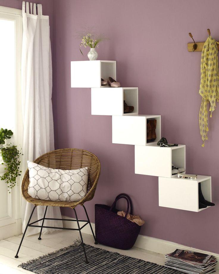 die besten 25 schuhregal platzsparend ideen auf pinterest. Black Bedroom Furniture Sets. Home Design Ideas