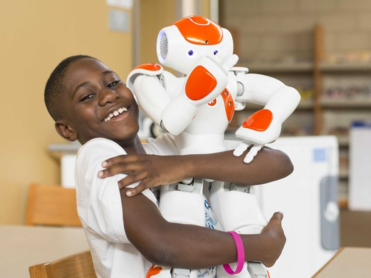 Teq NAO Robots In Public Schools - Business Insider - With This Robotics Program Thriving In Public Schools, It's 'Cool To Make Mistakes Again'