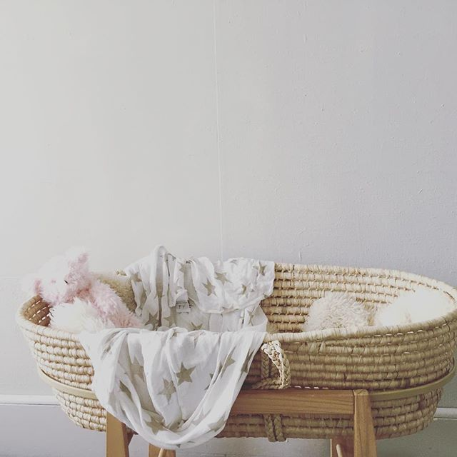 Moses Basket Stand Photo By Polish Motherhood Pinterest Baby And Nursery