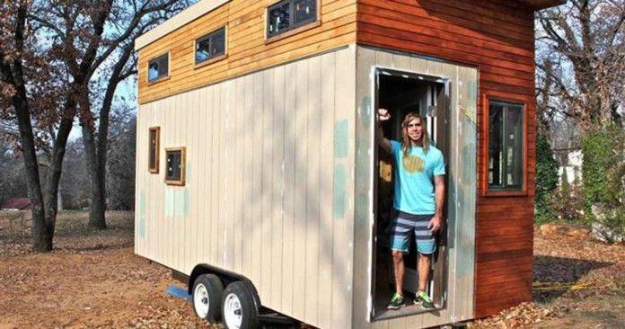Kreativ studerende ville undgå at betale husleje, så han kom op med en genial løsning