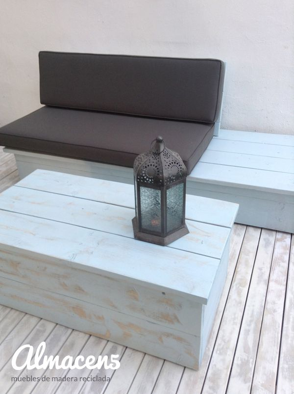 64 best muebles reciclados images on pinterest - Muebles madera reciclada ...