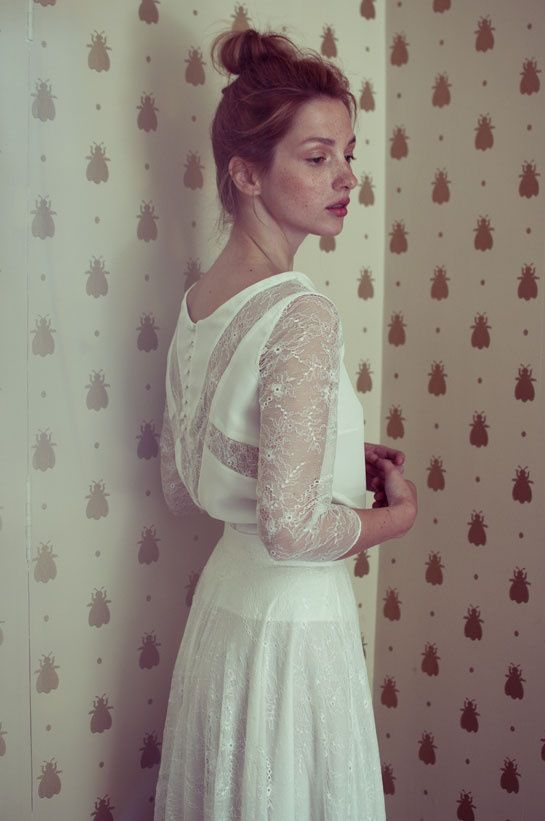 Elise Hameau bridal gown, 2014 collection