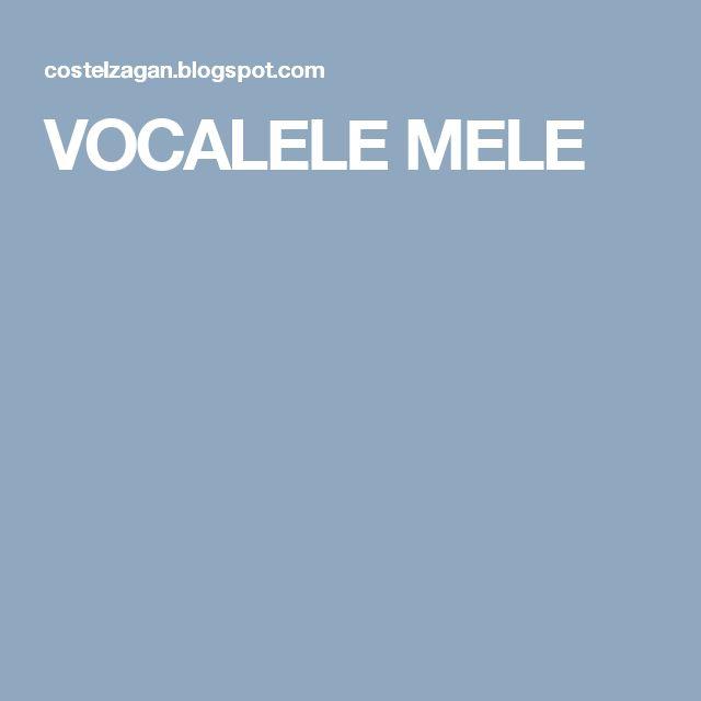 VOCALELE MELE