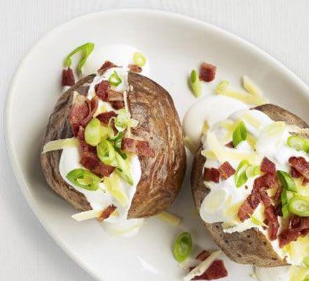 Classic jacket potatoes recipe - Recipes - BBC Good Food