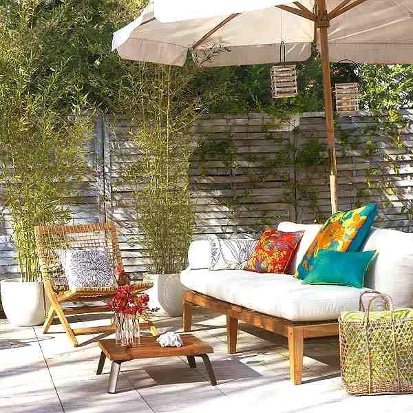 Muebles de exterior pr cticos para el verano jardines - Muebles de patio ...
