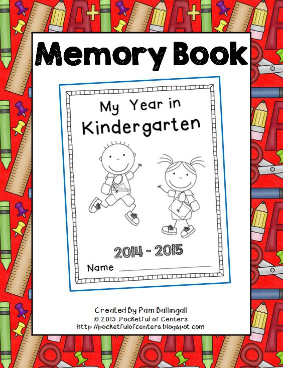 Preschool Memory Book Cover Ideas : The best kindergarten memory books ideas on pinterest