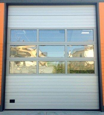 Porte sezionali automatiche industriali