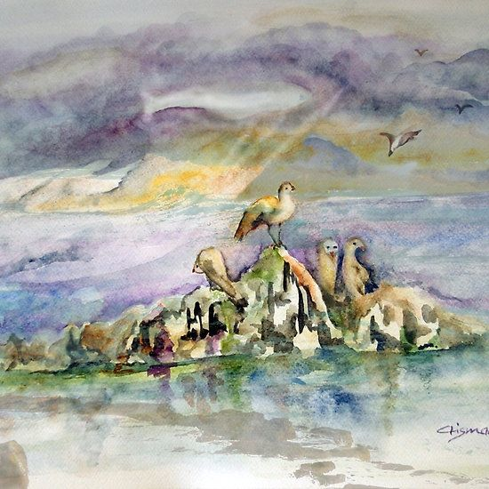 On The Rock,  http://www.redbubble.com/people/crismanart/works/24859874-on-the-rock?asc=u VERY PROUDLY FEATURED BY THIS & THAT 17.JAN.2017 NEW CREATIONS, BEST OF BEST 17.JAN.2017