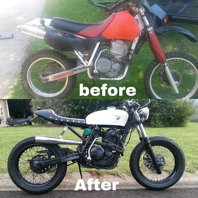 We don't know who is the author of this bike.  Before & After…