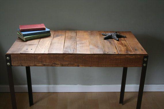wood desks tables order custom order angled iron wood desks