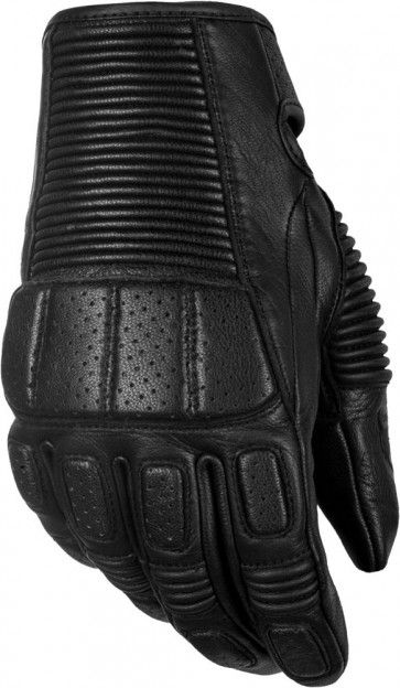 Highway 21 Trigger Leather Mens Street Riding Racing Motorcycle Gloves
